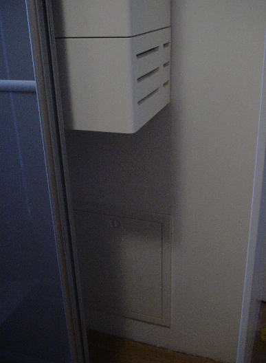 drsna vrata pred omarico