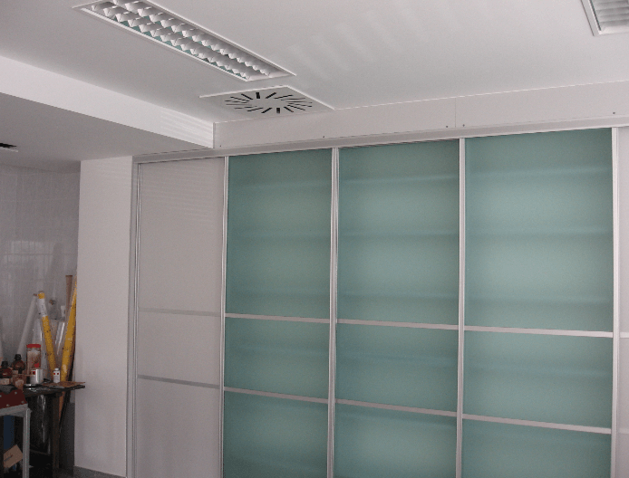 montaža vgradne omare
