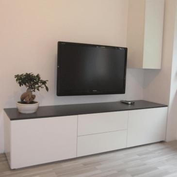 Primeri nizkih omaric za dnevne sobe