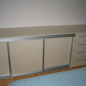 3 primerčki nizkih omaric za spalnice