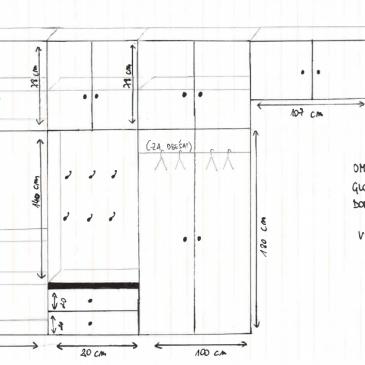 Če vas zanima kako poteka izdelava omar po meri