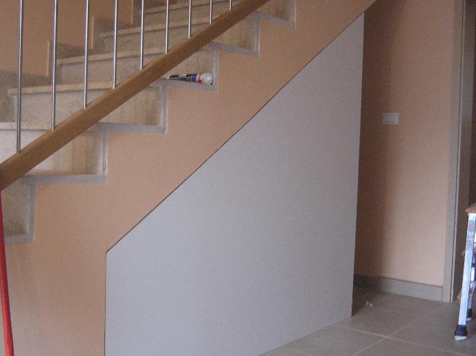 predsoba - opremljanje stopnišča