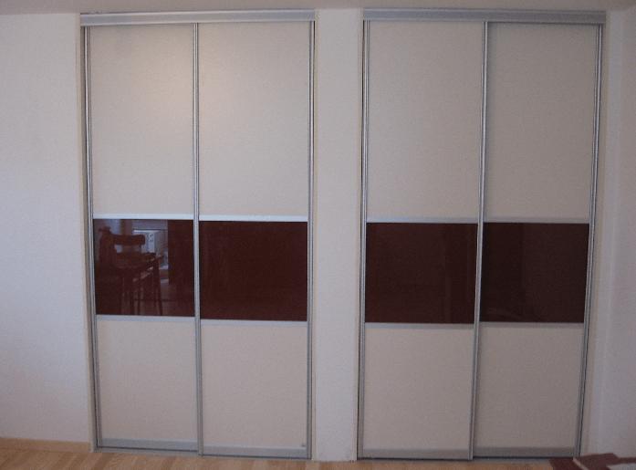 vgradni omari z drsnimi vrati po naročilu