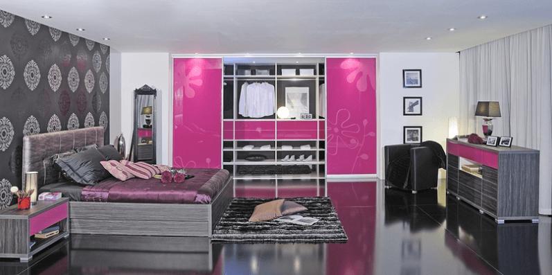 moderne vgradne omarre s posteljo