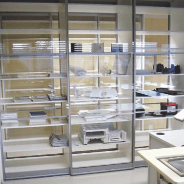 Razdelitev drsnih omar glede na prostor, izvedbo in namen uporabe