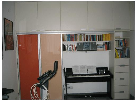 kombinirane vgradne omare po naročilču