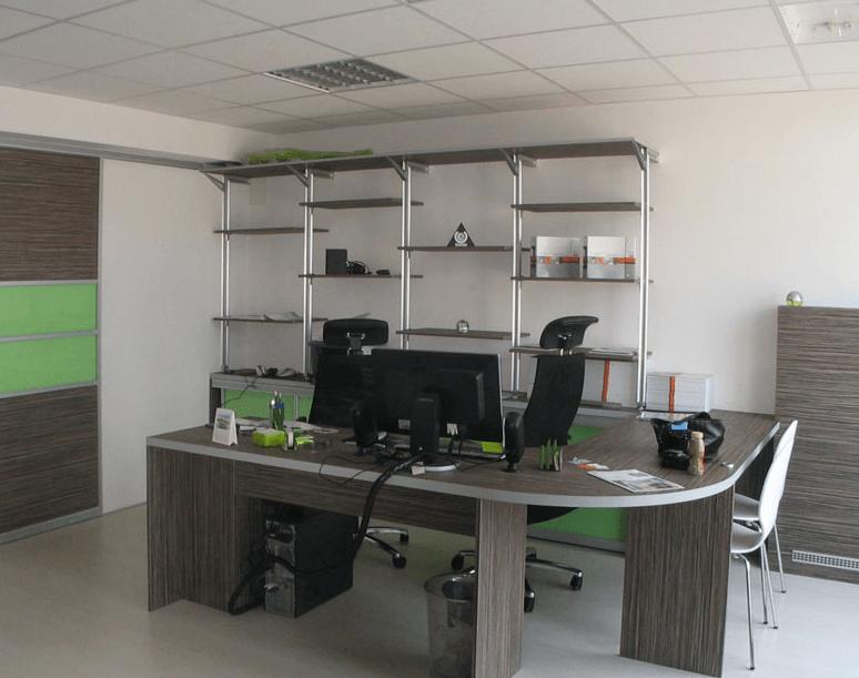 opremljanje pisarne