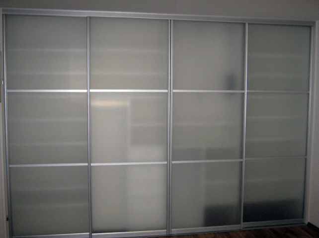 pregradna omara v steklu