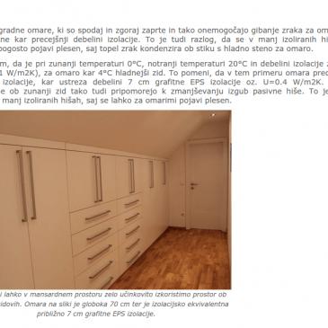 Kako je z zvočno in toplotno izolacijo pri pregradnih omarah? – VPRAŠANJA STRANK