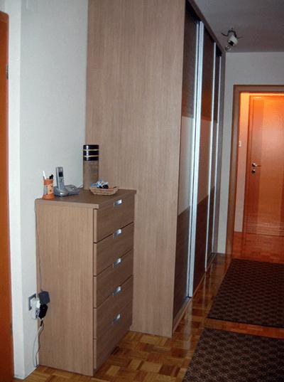 vgradna omara hodnik