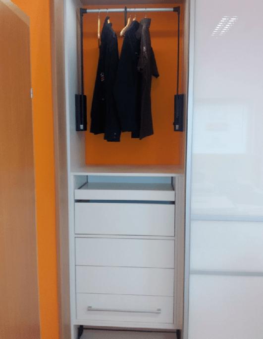 pisarniška omara levi del