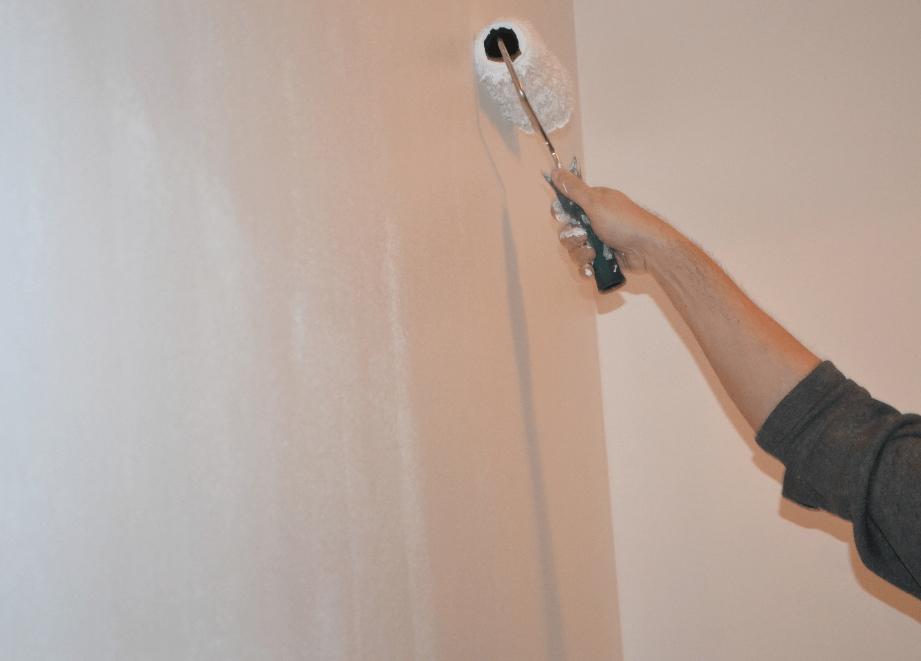 beljenje zidne stene