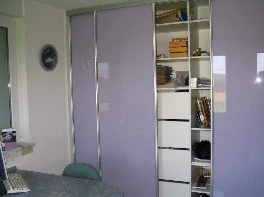 pisarniška omara s steklom