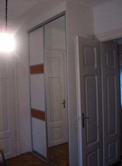 vgradna omara v starejši hiši