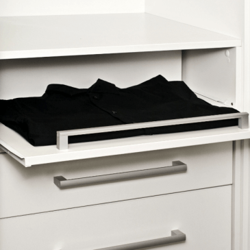 Nekaj primerov dodatkov za notranjost garderobne omare