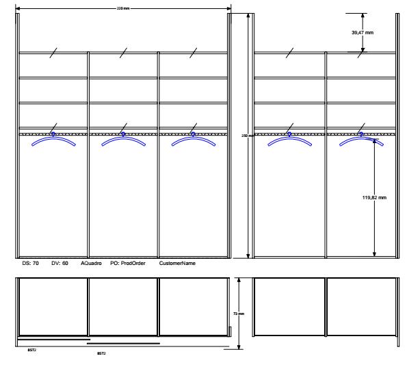 kotna vgradna omara spalnica