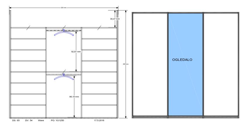 vgradna omara predsoba
