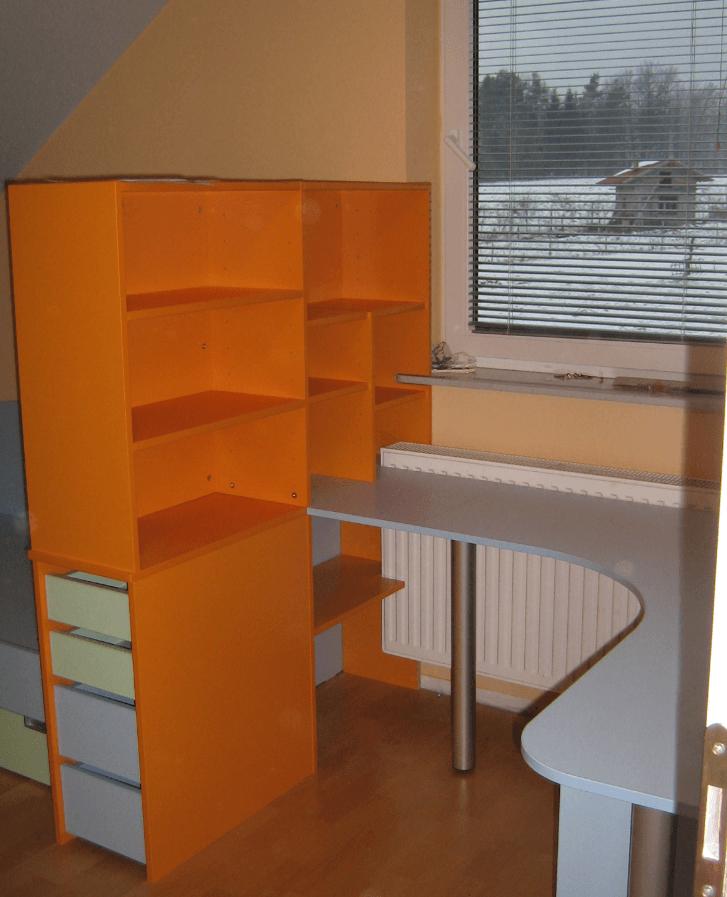 pisalna miza otroška soba