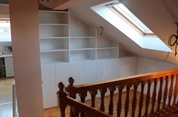 cenik vgradnih omar mansarde