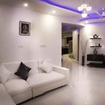 Notranja ureditev dnevne sobe v primeru majhnega prostora