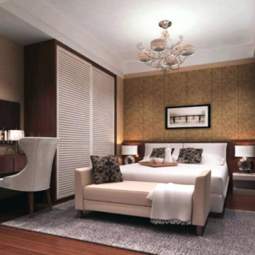3 najbolj pogosti primeri vgradnih omar v hotelskih sobah
