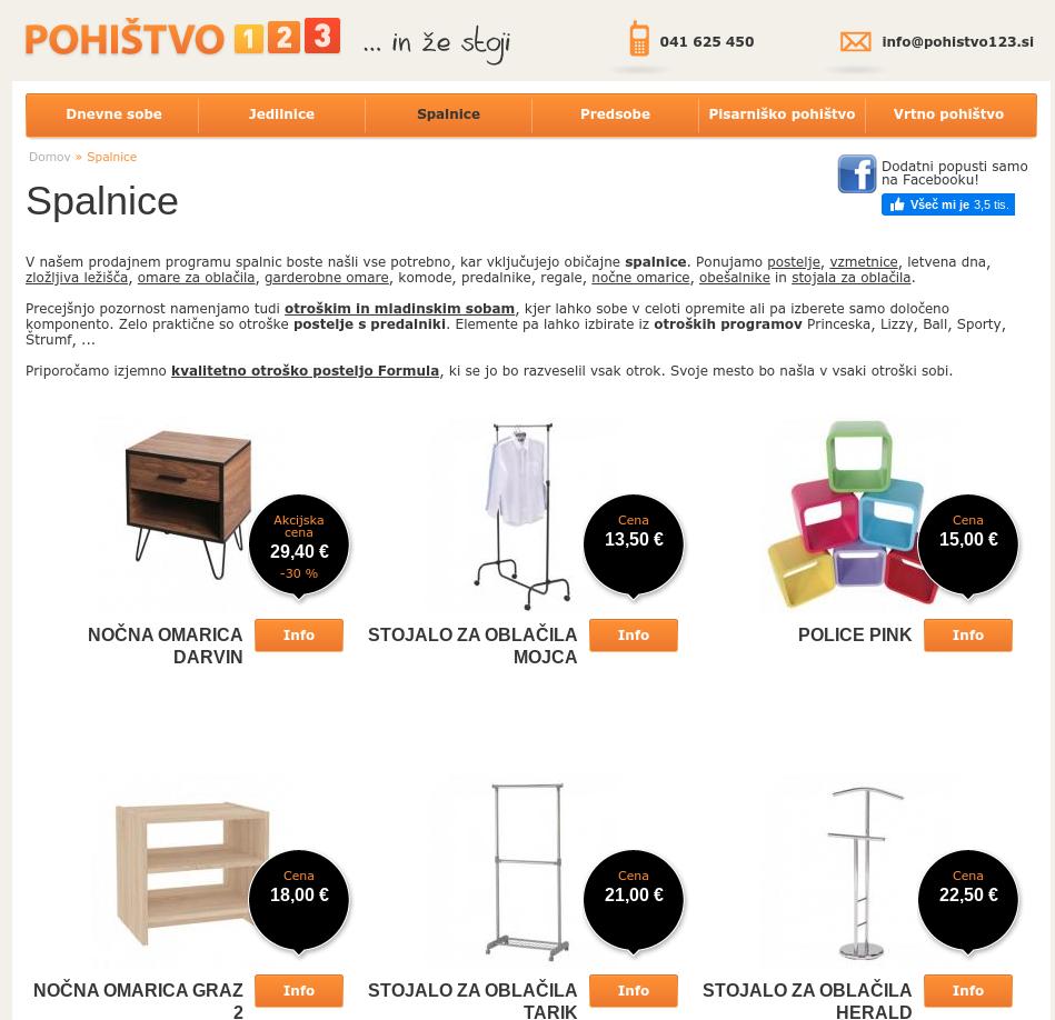 spletno trženje pohištvo123.si
